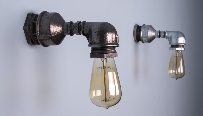 lampy z rur
