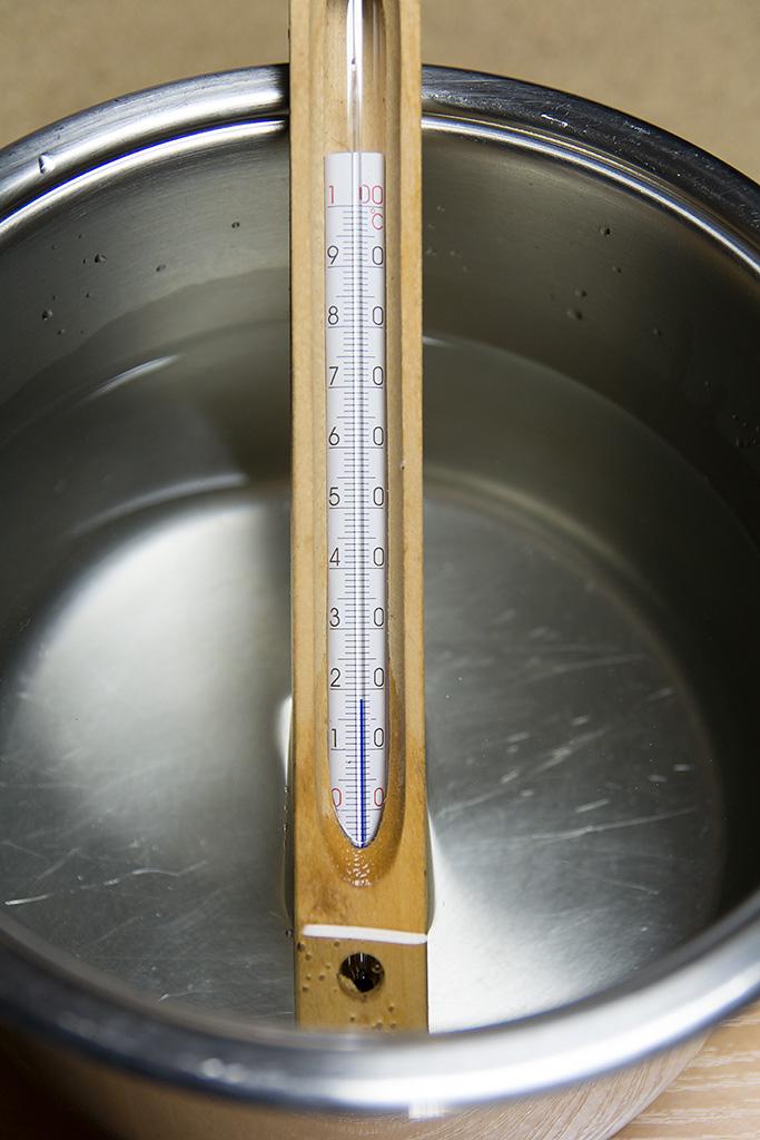 Mierzenie Temperatury Wody Termometrem