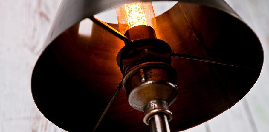 Industrialne Lampy z Rur