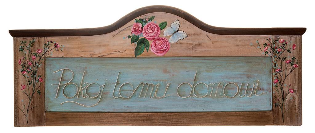 Ozdobne Zwieńczenie Drzwi - obraz namalowany na drewnie