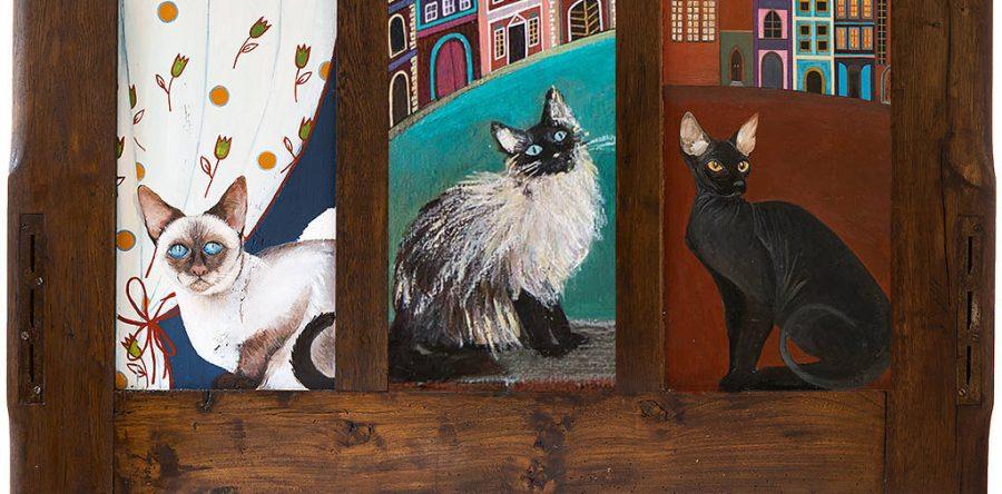Obrazy z Kotem - Obrazy do powieszenia na ścianie