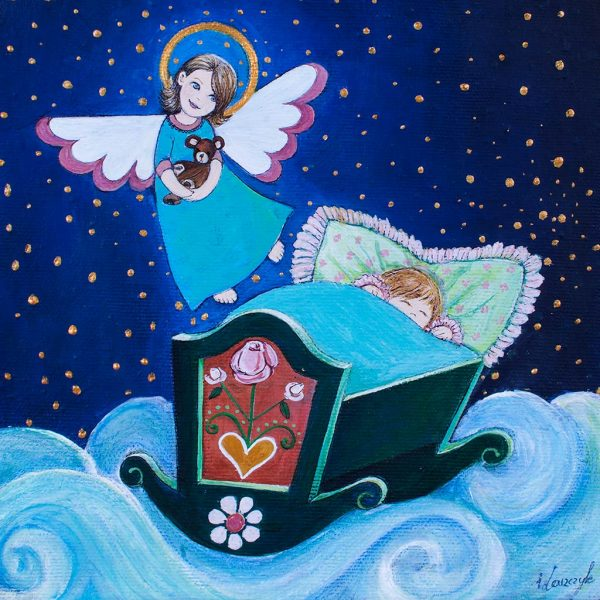 Anioł Stróż z Dzieciątkiem