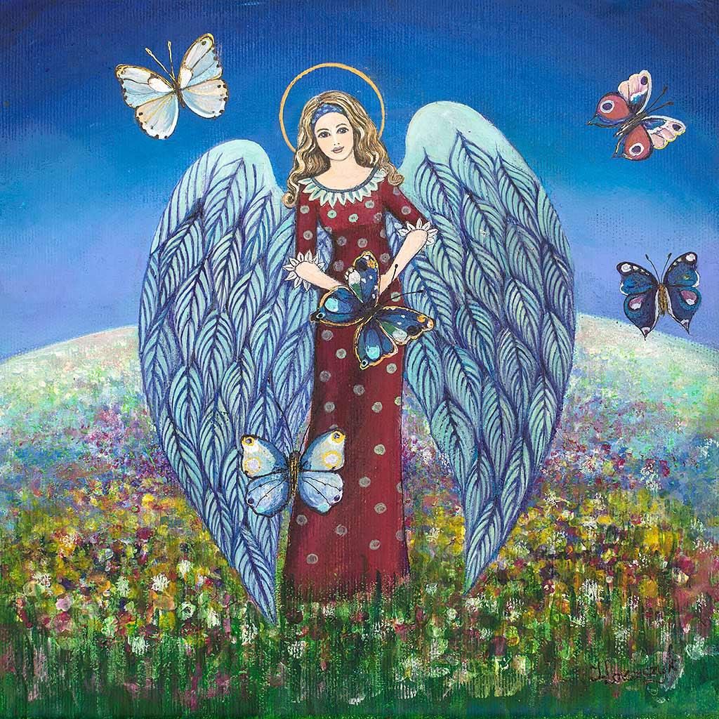 Anioł na Chrzest