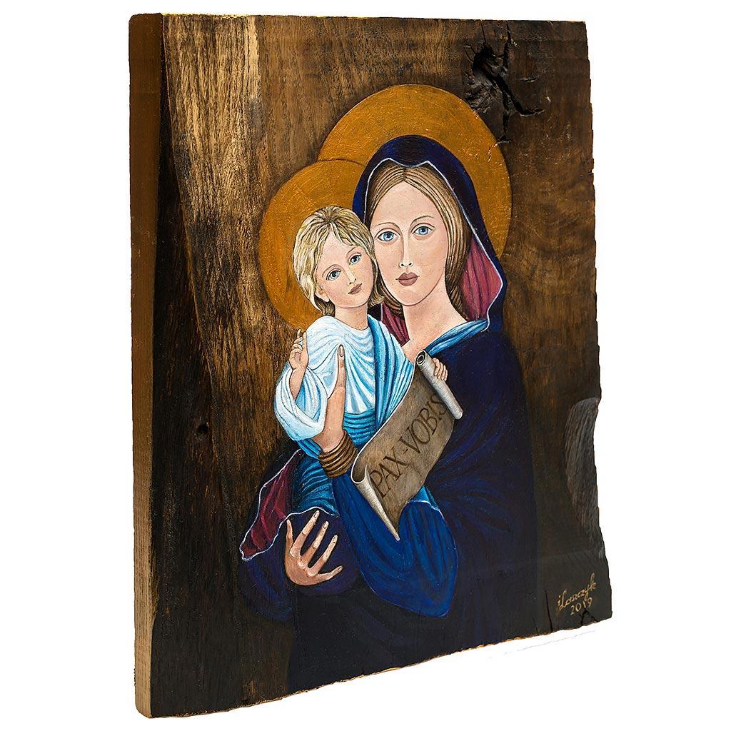 Madonna z Dzieciątkim na desce