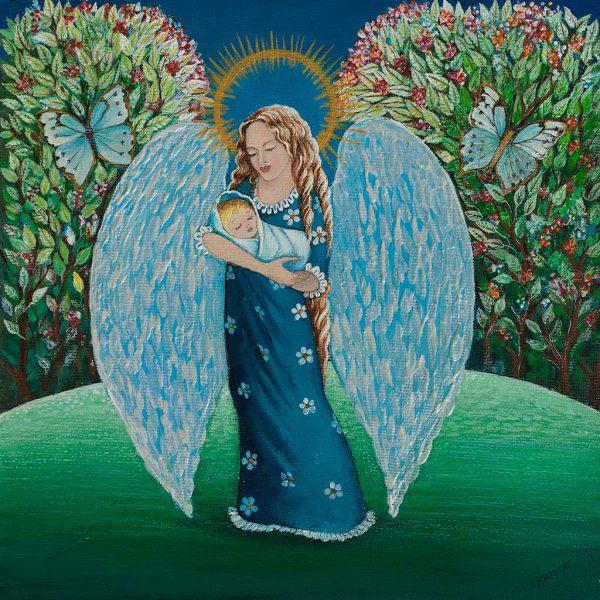 Anioł Stróż z Dzieciątkiem na Rękach