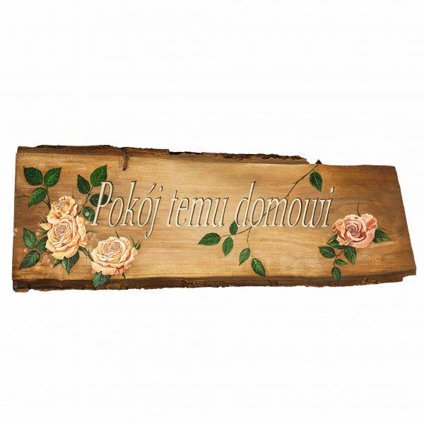 Deska z Napisem nad Drzwi
